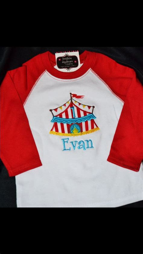 birthday themed shirts carnival theme 1st birthday party outfit carnival themed