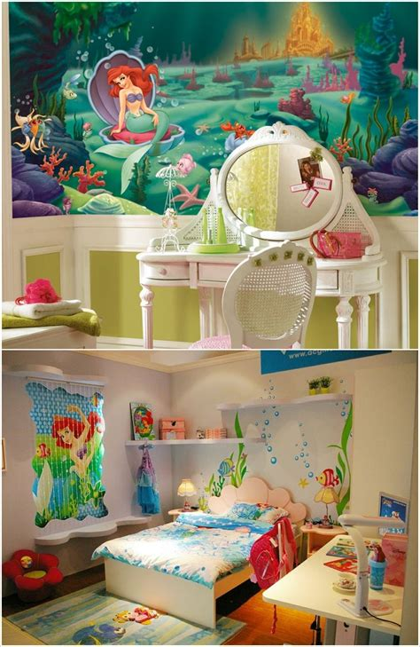 mermaid themed room decor