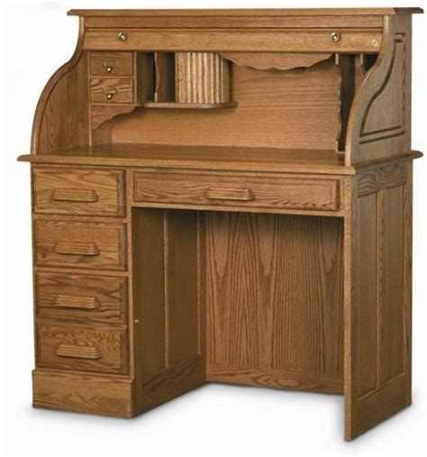 Handcrafted Solid Oak Single Pedestal Desk With Hutch Solid Oak Desk With Hutch