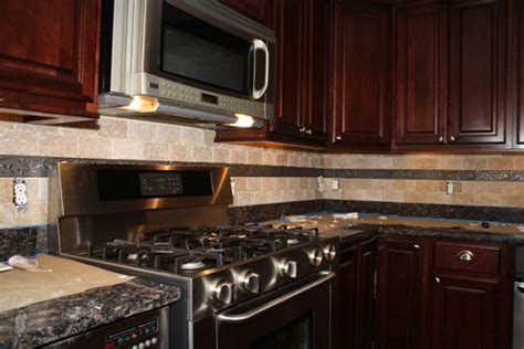 installing backsplash in kitchen how to install kitchen backsplash tiles