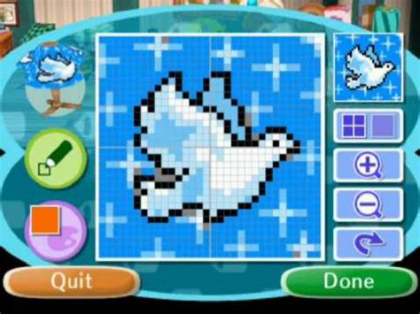 animal crossing design maker new leaf animal crossing patterns youtube