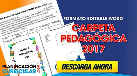 modelo de carpeta pedagogica de educacion inicial girls carpeta pedag 243 gica 2017 completo editable planificacion