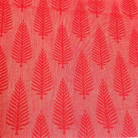 buy pattern fabric online buy indian cotton fabric online red and pink tree