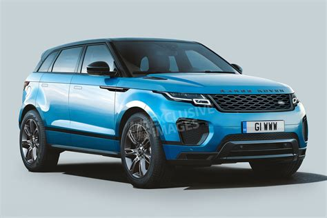 New 2019 Range Rover Evoque Exclusive Images Auto Express