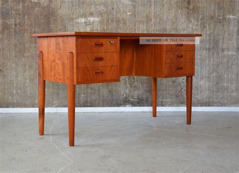 60er schreibtisch 60er teak schreibtisch design 60s writing desk