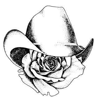 25 beautiful cowboy hat tattoo ideas on pinterest