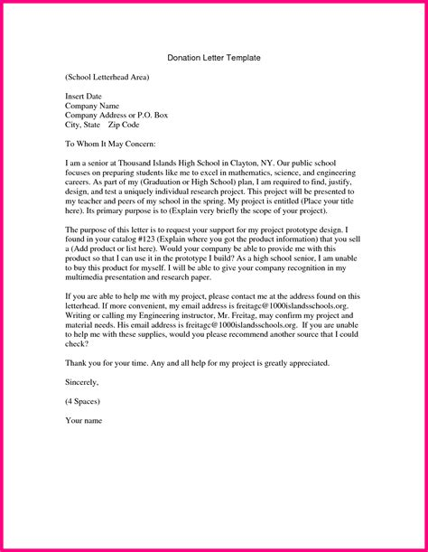 Letter Request how to write a donation request letter for an eagle project cover letter templates
