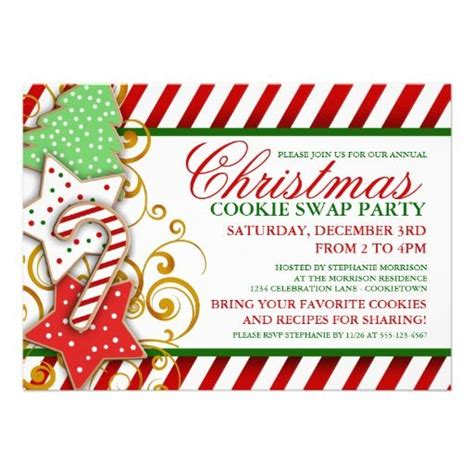 cookie invitation template cookie invitation