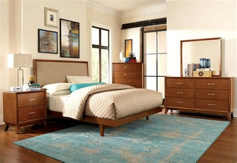 Mid Century Modern King Bedroom Set by Bedroom Mid Century Modern Bed Frame For Home