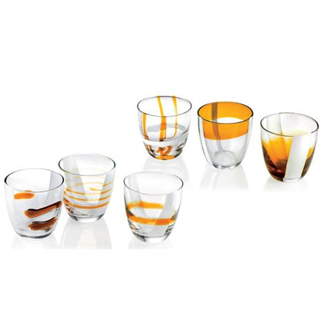 bicchieri acqua bicchieri acqua vino 6pz table guzzini stilcasa