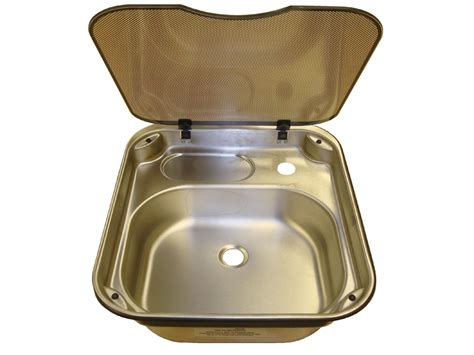 caravan kitchen sink spinflo rectangle stainless steel kitchen sink with glass