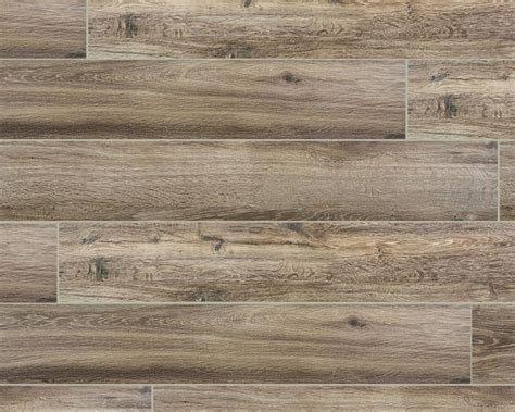 wood series marrone 6 5x40 wood plank porcelain tile