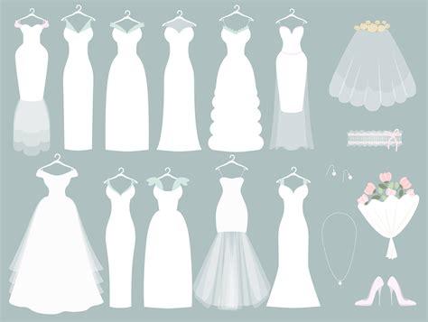wedding dress clipart wedding clipart wedding dress clipart bridal clipart