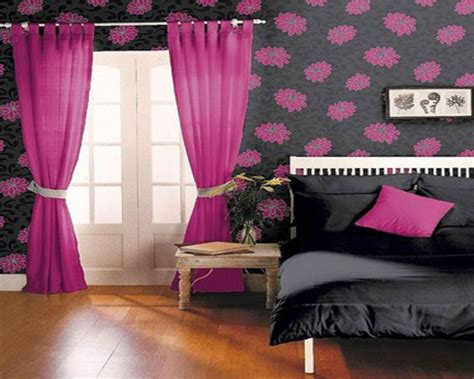 pink and black room decor 17 pink room decorating ideas for