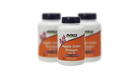 Apple Cider Vinegar Opiate Detox by Now Apple Cider Vinegar Capsules A Pill A Day Keeps