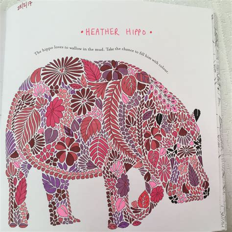hippo animal kingdom book millie marotta animal
