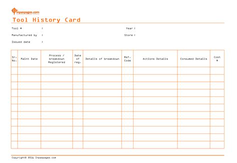 Machine History Card Template by Machine History Card Template 28 Images Crane