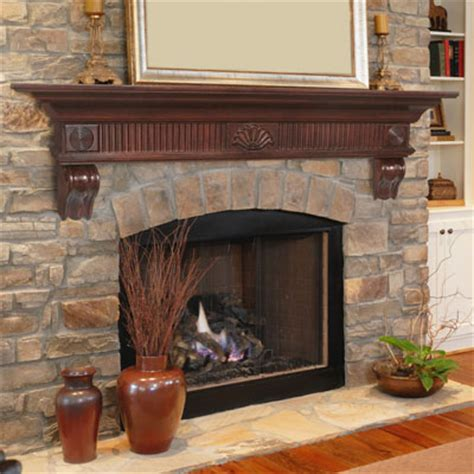 brick fireplace mantle how to install a fireplace mantel brick anew