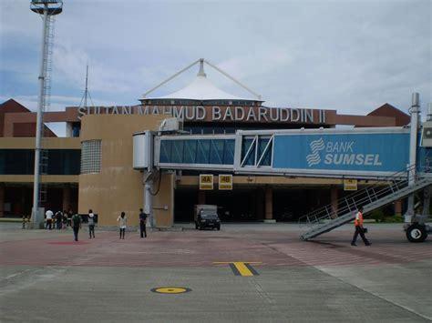 layout bandara sultan mahmud badaruddin ii harga tiket pesawat palembang jakarta melambung tinggi