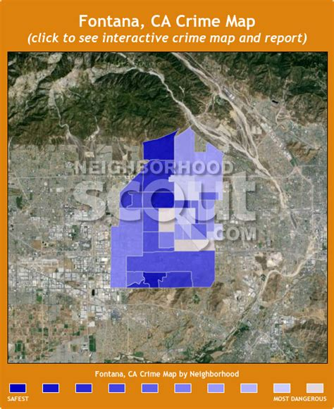 map of fontana ca fontana ca crime rates and statistics neighborhoodscout