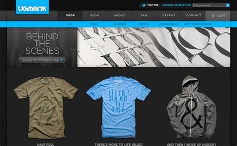design a shirt site 10 cool t shirt websites oakes design web design