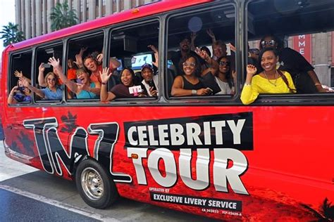 tmz bus has express trip to celebs bad behavior ny legends of hollywood tours los angeles ca top tips