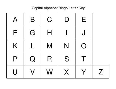 printable alphabet letters uppercase capital letters alphabet for kids activity shelter