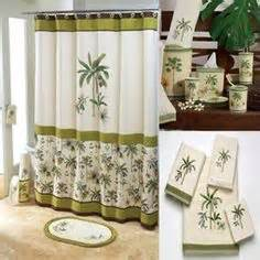 avanti banana palm shower curtain avanti banana palm shower curtain palm tree shower