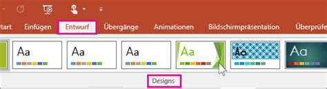 Powerpoint Design Vorlagen ändern 196 Ndern Des Aussehens Und Verhaltens Einer Pr 228 Sentation Mithilfe Designs Powerpoint
