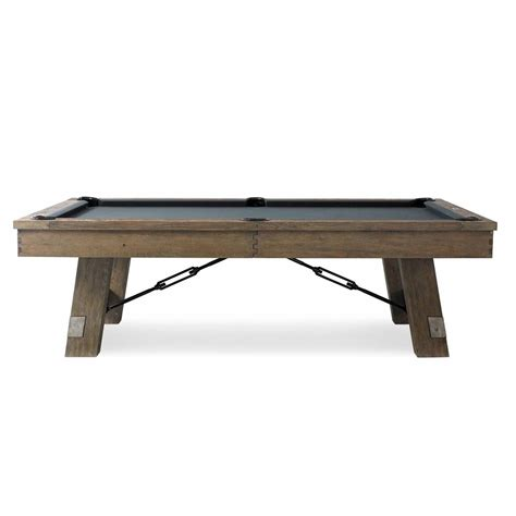 plank and hide pool table the isaac pool table by plank hide family leisure