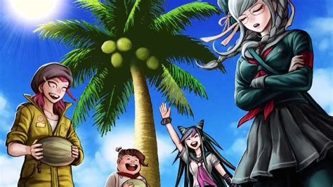 danganronpa  goodbye despair coconut party chapter