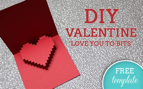Joseph Valentines Day Card Template by Diy Tutorial Free Printable Diy Valentines Card You