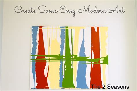 simple modern paintings the 2 seasons the lifestyle