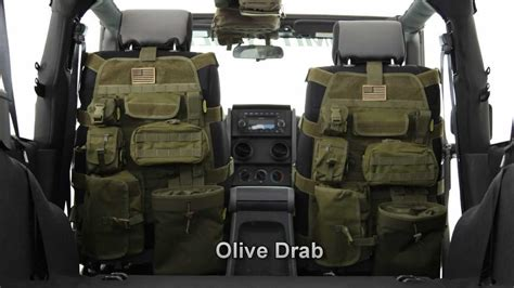tactical jeep seat covers gear review molle visor panels by king s arsenal
