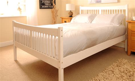 Handmade Bed Company - handmade shaker bed with mattress groupon goods