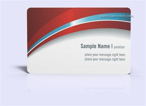 pvc card template plastic card template 089 plastic card