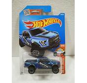 Hot Wheels Camioneta 17 Ford F 150 Raptor Azul 150/250