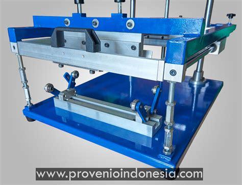 Mesin Sablon Manual jual mesin alat sablon manual botol gelas perlengkapan peralatan alat provenio indonesia