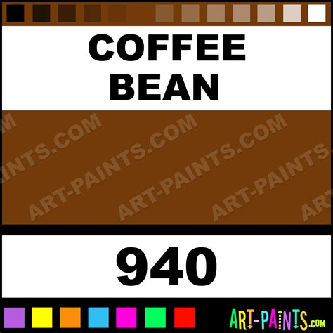 coffee bean plaid acrylic paints 940 coffee bean paint coffee bean color folk plaid