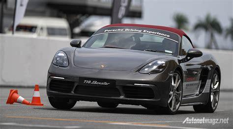 Porsche Driving Academy by Porsche Media Driving Academy 2017 Porsche 718 Boxster