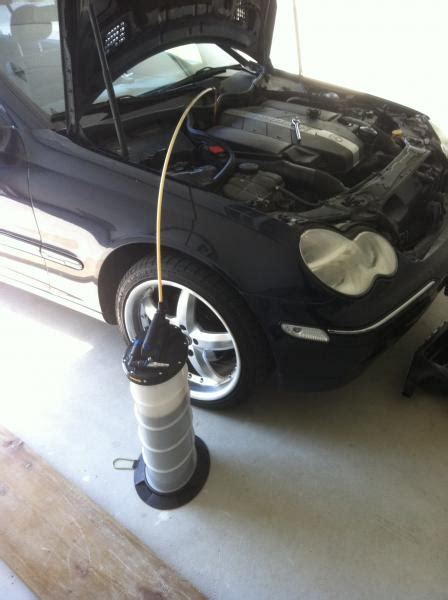 how much is a change for a mercedes mercedes c240 do it yourself change with pictures