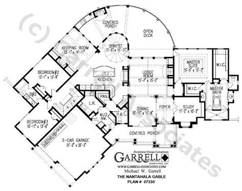 nantahala floor plan nantahala cottage gable house plan 07330 1st floor plan