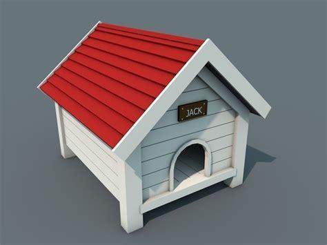 dog house models 3d model low poly doghouse vr ar low poly obj c4d cgtrader com