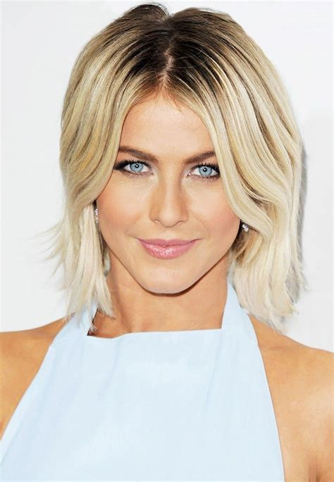 how to get julianne short haircut 9 celebs who aren t afraid to let their roots show