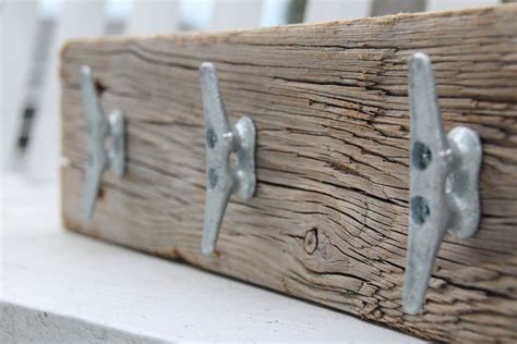 nautical boat cleats nautical coat rack with boat cleats made from reclaimed