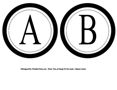 printable letters circle 5 inch small circle printable alphabet letters a z