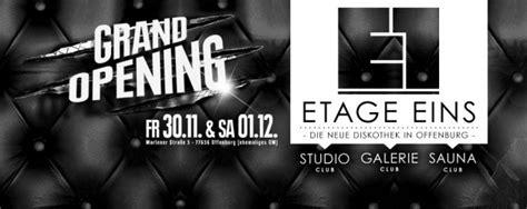 etage 1 offenburg grand club opening etage eins subculture freiburg