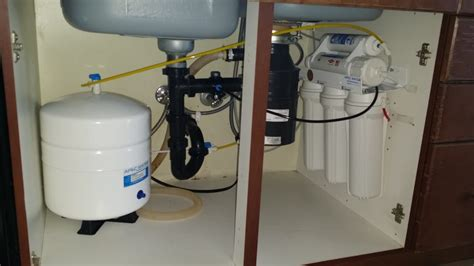 Central Plumbing Valley by Apec Osmosis Water Filtration System Installed By