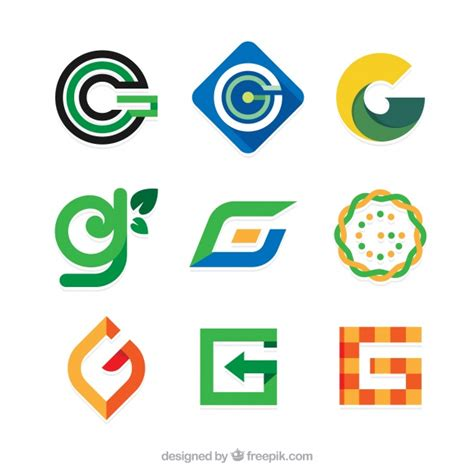 imagenes vectores logos letra g fotos y vectores gratis