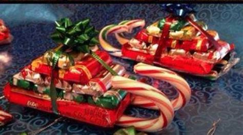 candy sled great gift or holiday party favors for kids or